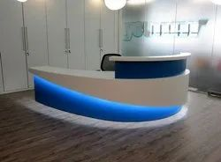 CURVED MODULAR RECEPTION TABLE