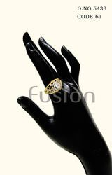 Cubic Zircon American Diamond Finger Ring