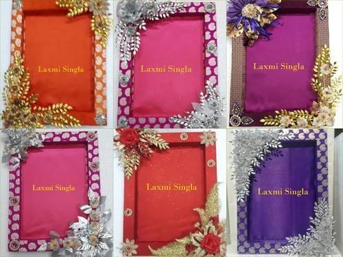 Designer Saree Packing Trays At Rs 40 Pieces Saree Packing Interesting Saree Tray Decoration