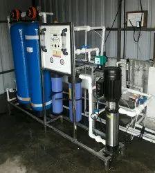1000 LPH FRP/UPVC RO Plant