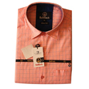Mens Pure Cotton Designer Slim Fit Checked Shirt