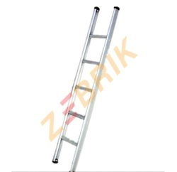Aluminum Broad Step Single Ladder