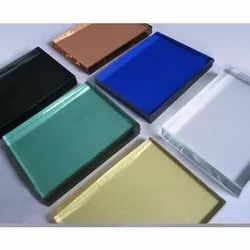 Plain Multicolor Tinted Glass