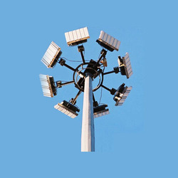 Aluminium High Mast Lighting Pole