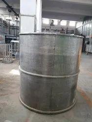 Stainless Steel Vertical Yarn Perforator Dyeing Carrier, 3.5 Kw, Capacity: 50 - 1000 Kg