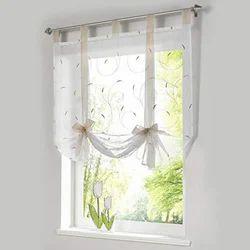 Printed Roman Curtain