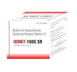 Metformin Hydrochloride Sustained Release Tablets I.P
