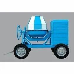 Diesel Engine Mild Steel Concrete Drum Mixer, Automatic Grade: Semi-Automatic