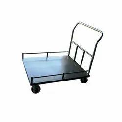 Hotel Resources Mild Steel Platform Truck Trolley 01, Rectangular, Load Capacity: 50-100