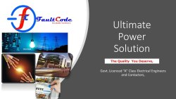 Electrical Consultant in Pan India