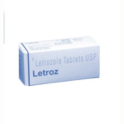 Sun pharma 2.5 mg Letroz Tab, Packaging Type: Strips, Tablet
