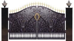 Modern MM Craft Cast Iron Gate