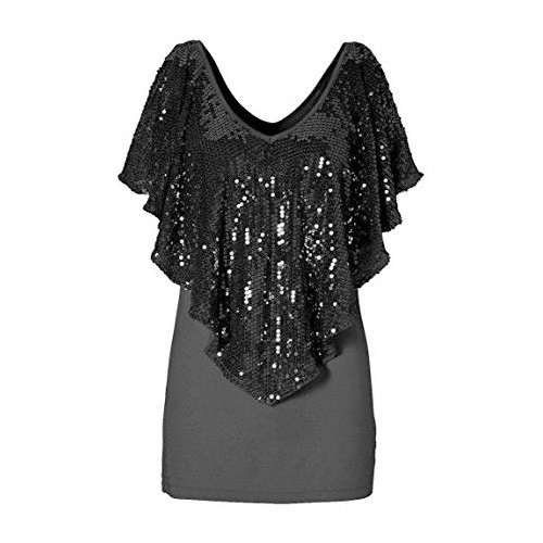 63b9612bbf0 Party Wear Sequin Bling Tops at Rs 165  piece