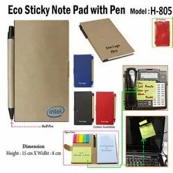 Eco Sticky Pad Note Pad H-805