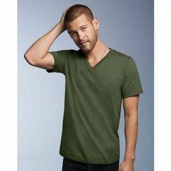 74fb0cf9f Men's Plain Color T-Shirt at Rs 150 /piece(s) | Men Plain T Shirt ...