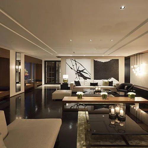 Residential Interior Design: Modular Kitchen & Wardrobe Glaze Residential Interior