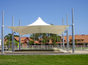 Conical Tensile Fabric Structure