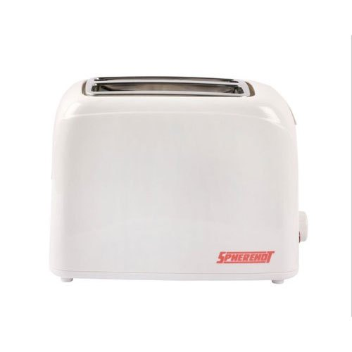 700 W White Spherehot PT01 Pop Up Toaster For Home, Warranty: 1 Year