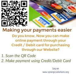 Now, make your payment in Two Easy Steps.