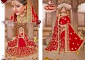 Bridal Wear Georgette Saree with Dupatta - Dulhan Special