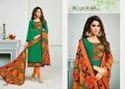 Printed Mirzya Suit Salwar Fabric