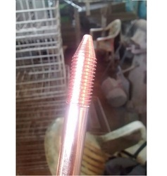 Solid Copper Threaded Earth Rod