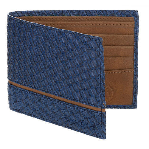 Titan Blue Mens Pu Leather Wallet