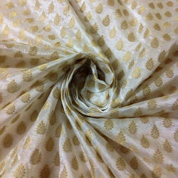 Printed Designer Silk Ladies Fabrics, Packaging Type: Poly Bag