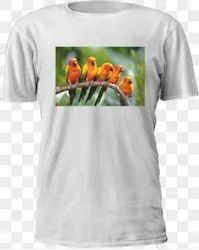 White Sublimation T Shirt Printing Service