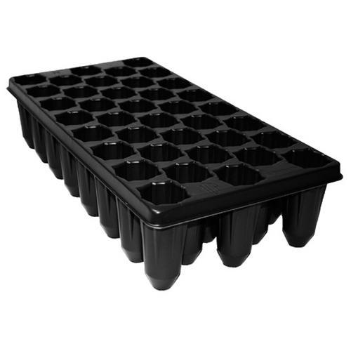 Black Seedling Nursery Tray
