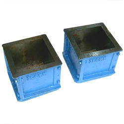 Cast Iron Cube Moulds without ISI Mark