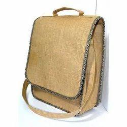 Natural Rubis Jute Conference Sling Bag