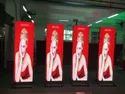 LED SCREEN POSTER STANDEE