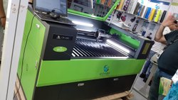 Two Head Laser Cutting And Engraving Machine For Shoes