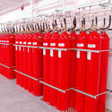 Red Freestanding Co2 Flooding System, 5-50kg
