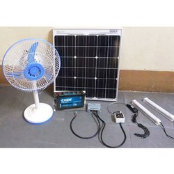 Solar DC Power System with 75 Watt Solar Panel