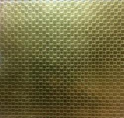 Stainless Steel Gold Texture Designer Sheets