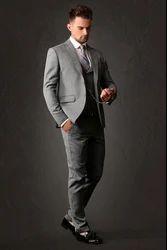Grey Men Western Suit