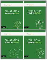 Usn Edutech Private Limited Paperback Foundation Class 8 Books - Physics, Chemistry, Mathematics, Biology, Secondary Stage