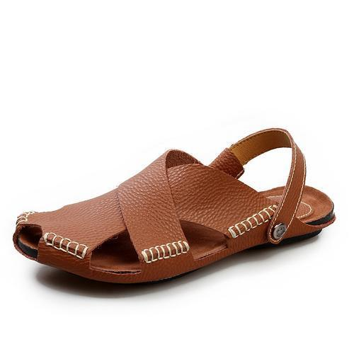 d3bc0f9f0b7e9 Genuine Leather Mens Leather Sandal, Rs 1500 /piece, Leather Shop ...
