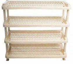 Plastic Beige Nilkamal Multipurpose Rack 04