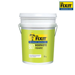 Dr. Fixit Super Roofkote Waterproofing Coating, 18 Kgs. Pail And 200 Kgs. Drum