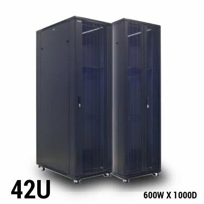 Black Steel Netfox 42u Server Rack Rs 33950 Piece