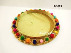 Round Satin Trays