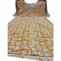 Cotton Full Sleeves Ladies Printed Anarkali Kurti, Machine Wash, Hand Wash