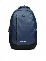 Blue And Black Fastrack Backpack