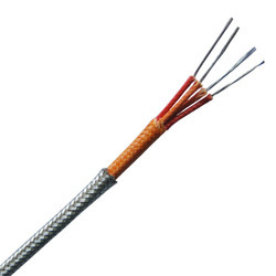 Thermocouple Cable Fiber Glass SS  Braiding Insulated