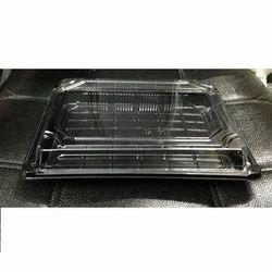 Plastic Black Cake Box