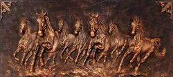 Seven Horse Mural