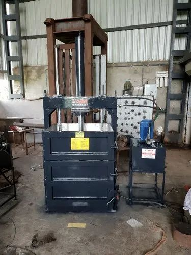 Rice Husk Baling Press